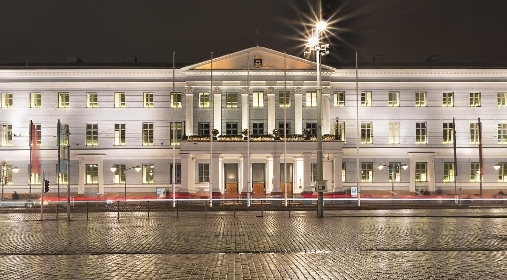 Helsinki City Hall (photo S. Stenroos).