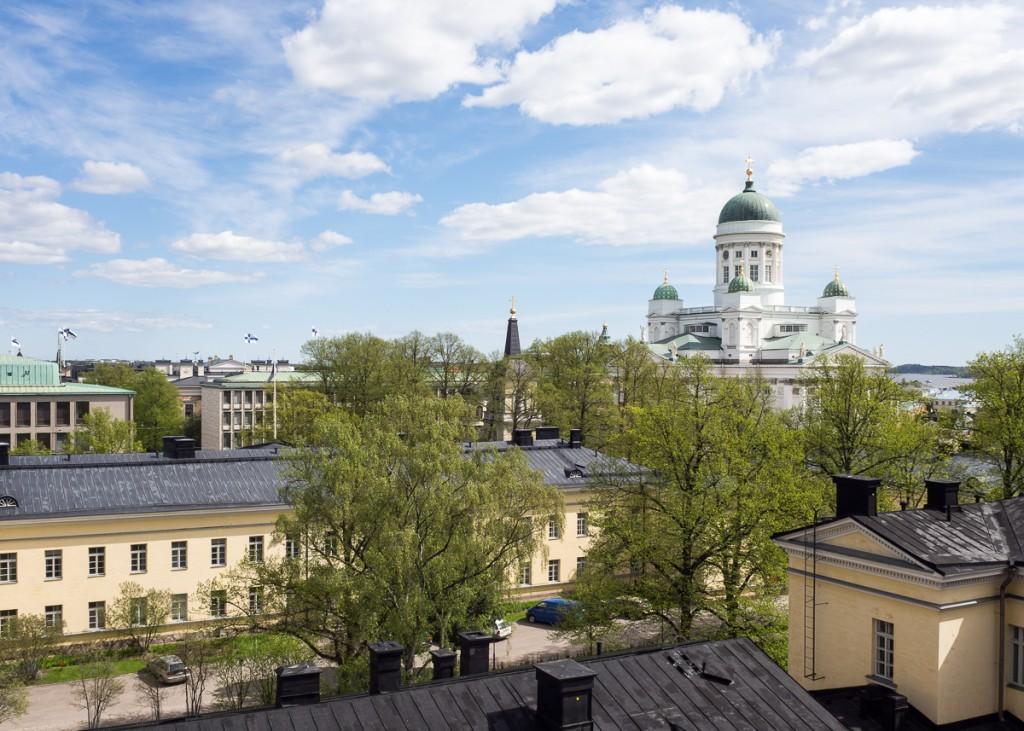 Spring greenery in Helsinki (photo Anne Kaihola).